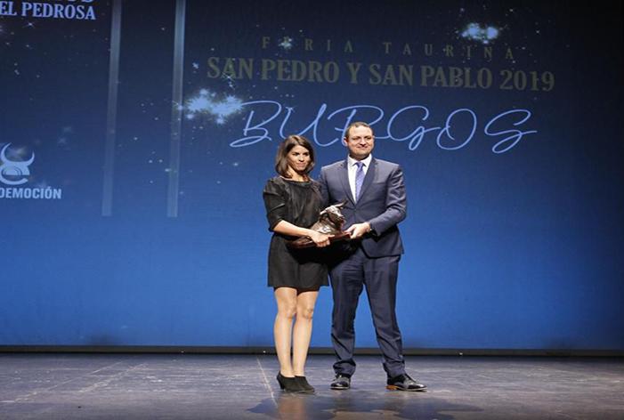 Léa Vicens, Mejor Rejoneador en Burgos